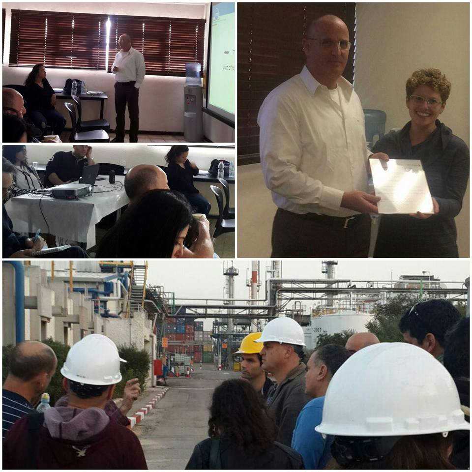 Haifa University Visit to Dor Chemicals