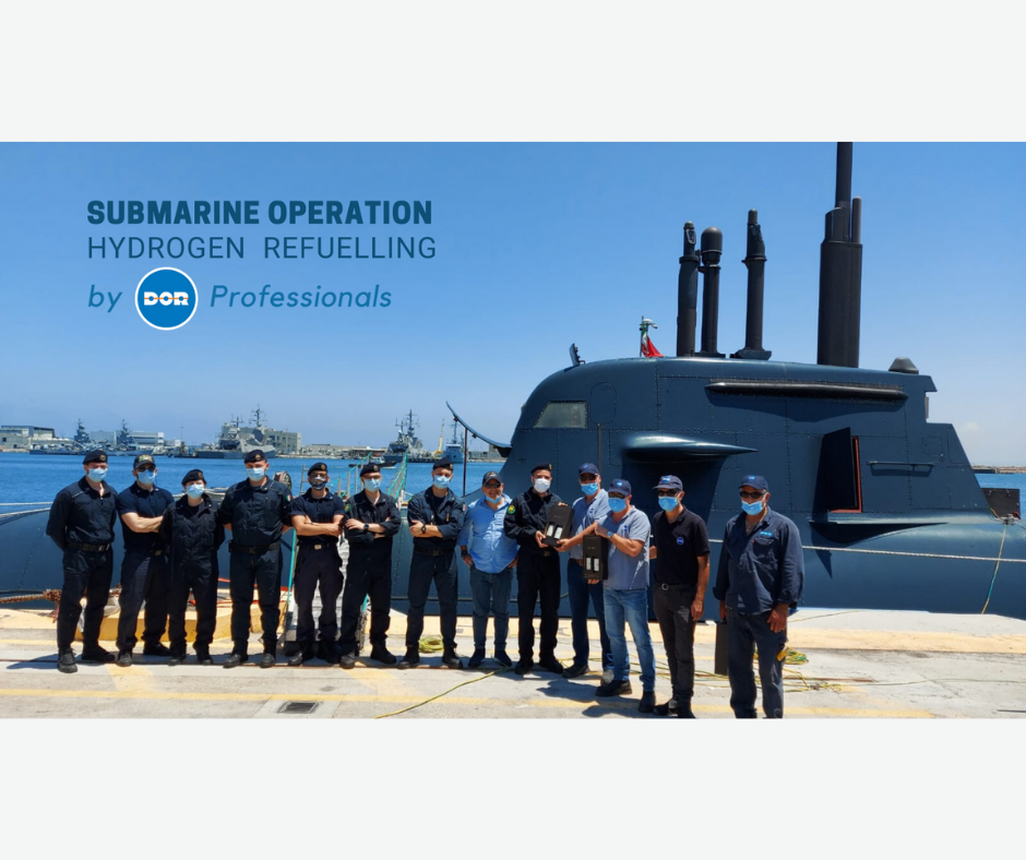 Hydrogen Refuelling Submarine / Dor Group Team
