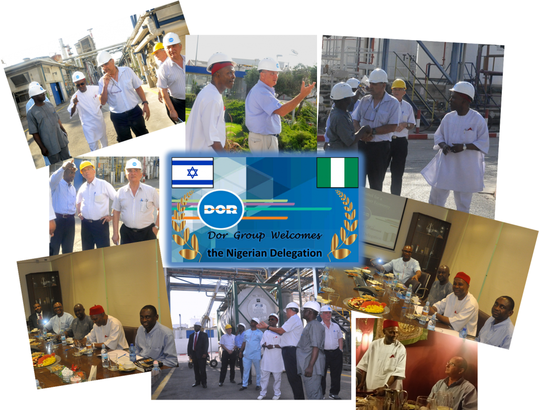 A visit of the Nigerian diplomatic delegation at Dor Group