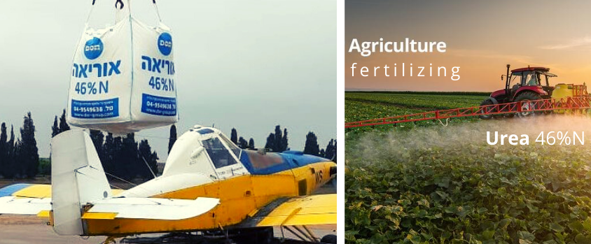 Urea Fertilizing for Agriculture
