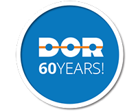 Dor-Group 60 years logo